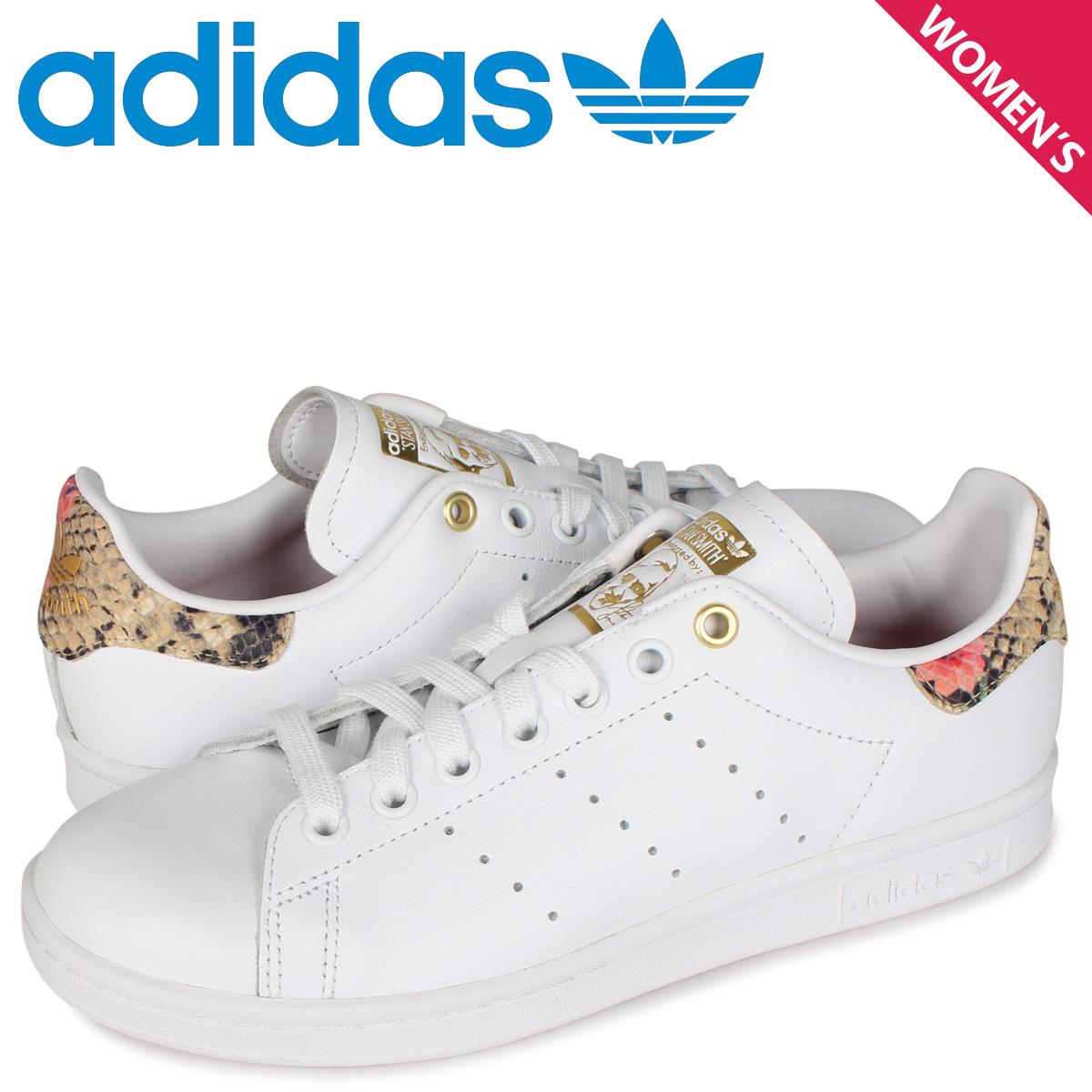 【お買い物マラソンSALE】 アディダス オリジナルス adidas Originals スタンスミス スニーカー レディース STAN SMITH W ホワイト 白 FV3086