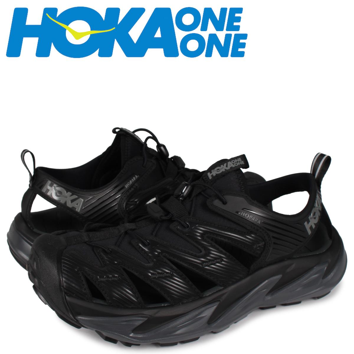 【最大600円OFFクーポン】 HOKA ONE ONE ホカオネオネ ホパラ サンダル スポーツサンダル メンズ HOPARA ブラック 黒 1106534