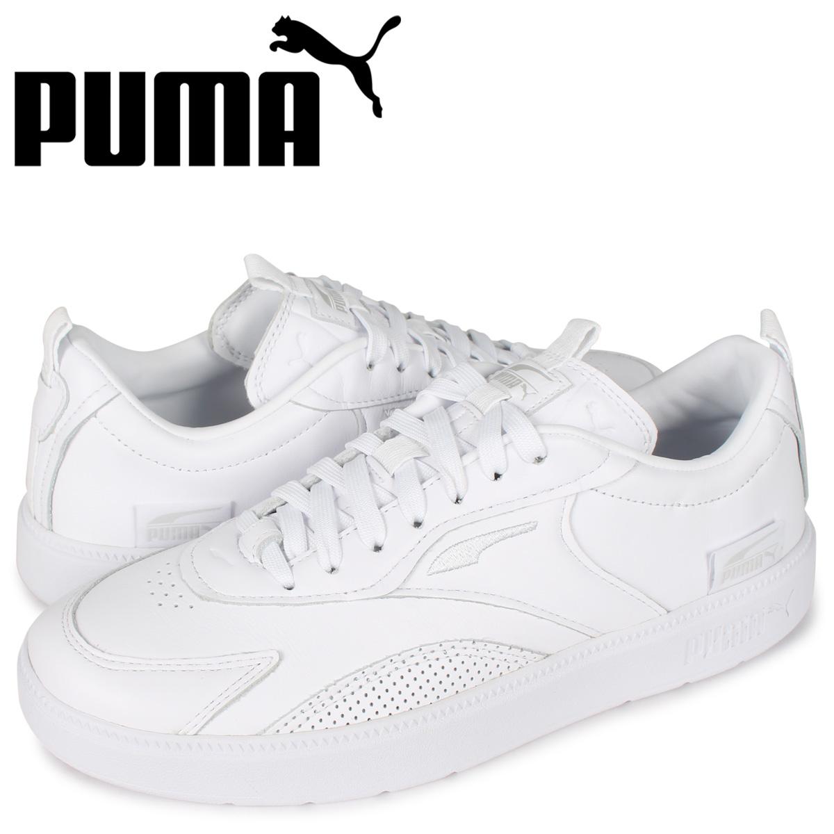 プーマ PUMA オスロ プロ クリーン レザー スニーカー メンズ OSLO PRO CLEAN LEATHER ホワイト 白 374162 [7/22 新入荷]