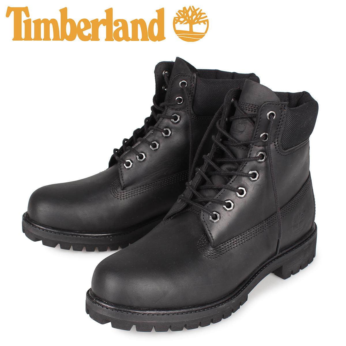 ティンバーランド Timberland 6インチ プレミアム ウォータープルーフ ブーツ メンズ 当店 6INCH PREMIUM WP BOOT ブラック 黒 A2DSW:スニークオンラインショップ