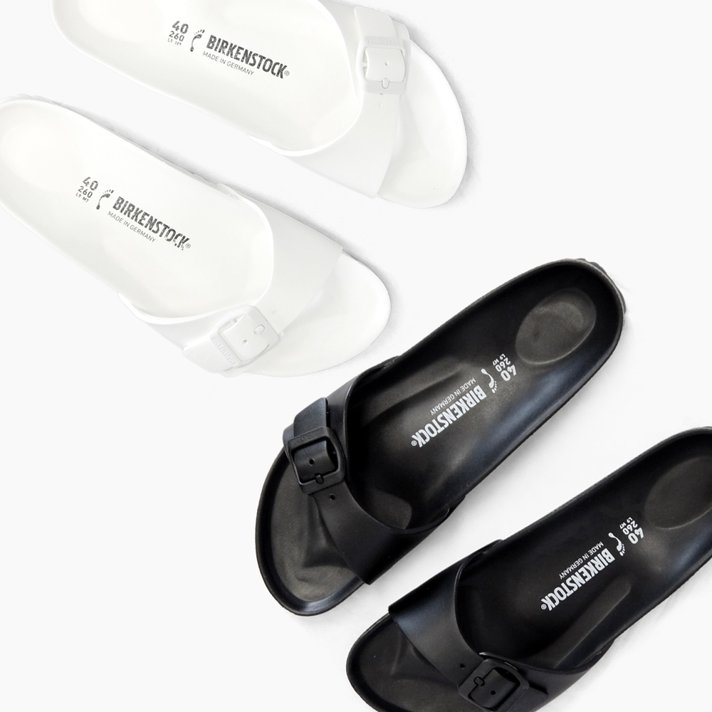 Vilken Birkenstock Black Mens Madrid Birken Eva Wide Ladies Sandals Narrow Stock White sdhrCxtQ