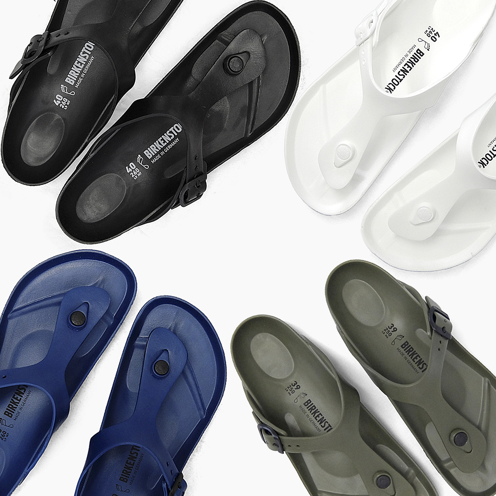 c4f581b7b1b BIRKENSTOCK Birkenstock GIZEH EVA Giza ladies mens WHITE white white BLACK  Black Black Navy blue sandals wide narrow wide BIRKEN vilken stock vilken  Sandals ...