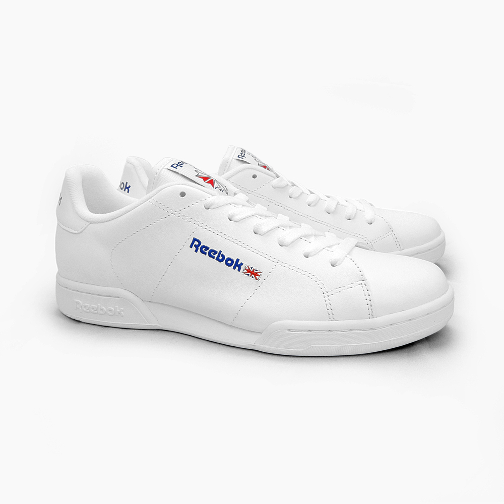 REEBOK CLASSIC Reebok classic sneakers men's NPC II WHITE/WHITE 1354