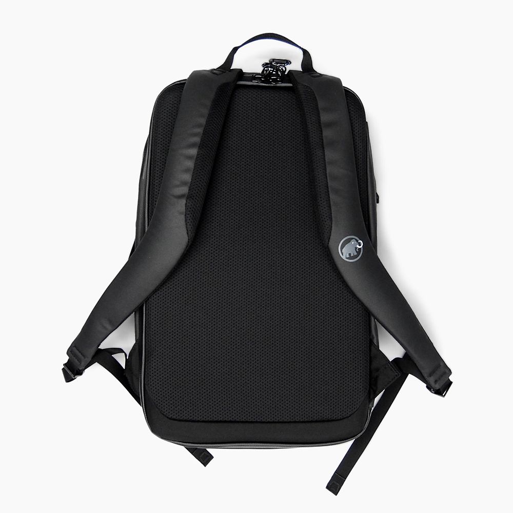 MAMMUT SEON TRANSPORTER 26L [BLACK 0001] large-capacity マムートセオントランスポーターメンズレディース commuting climbing gym roll top backpack black day pack D bag rucksack rucksack backpack (backpack)