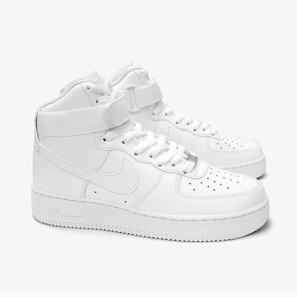 new concept e0813 1deab NIKE AIR FORCE 1 HI ' 07 315121-115 WHITE Nike Air Force 1 high cut mens  Womens sneakers air force 1 white HIGH high-all white