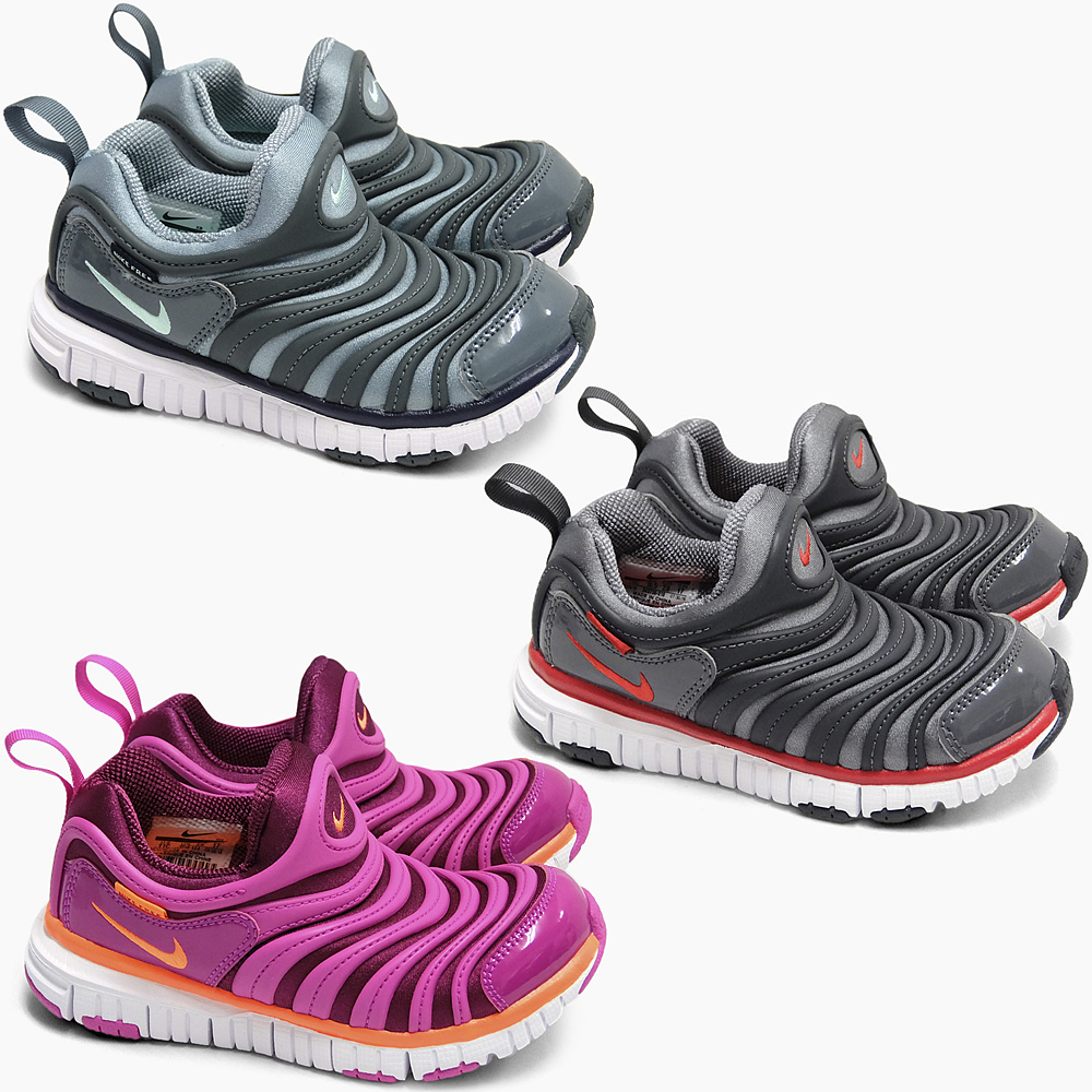 NIKE DYNAMO FREE (PS) 343738 2016 HOLIDAY 006 010 504 kids shoes Dynamo  free SNEAKER SHOES grey green blue red orange pink holiday winter color new