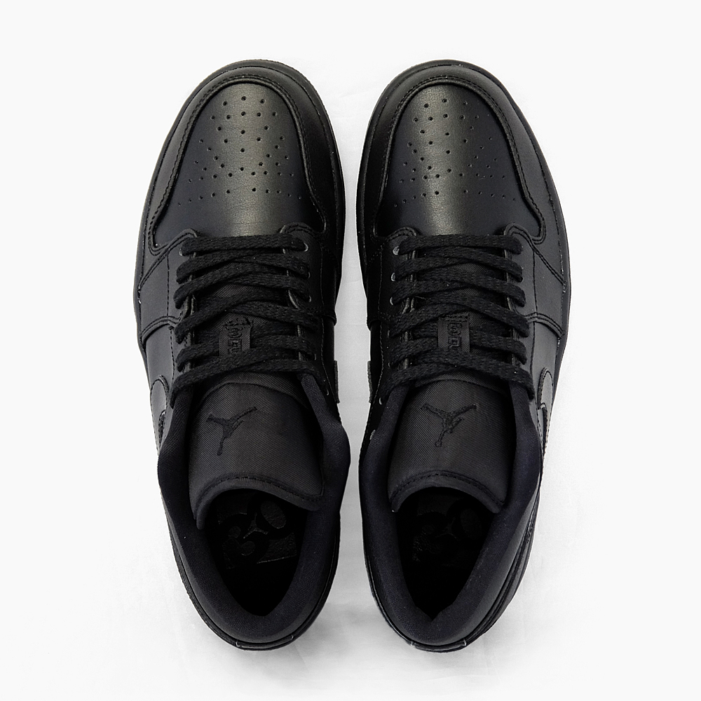 NIKE AIR JORDAN 1 LOW Nike Air Jordan 1 low MEN'S men's low-cut sneakers Black Black Air Jordan black