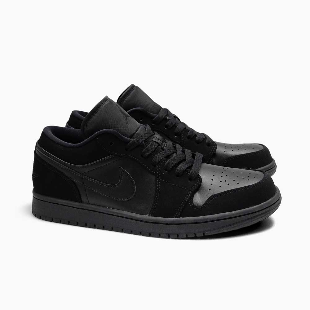 air jordan 1 all black low cut