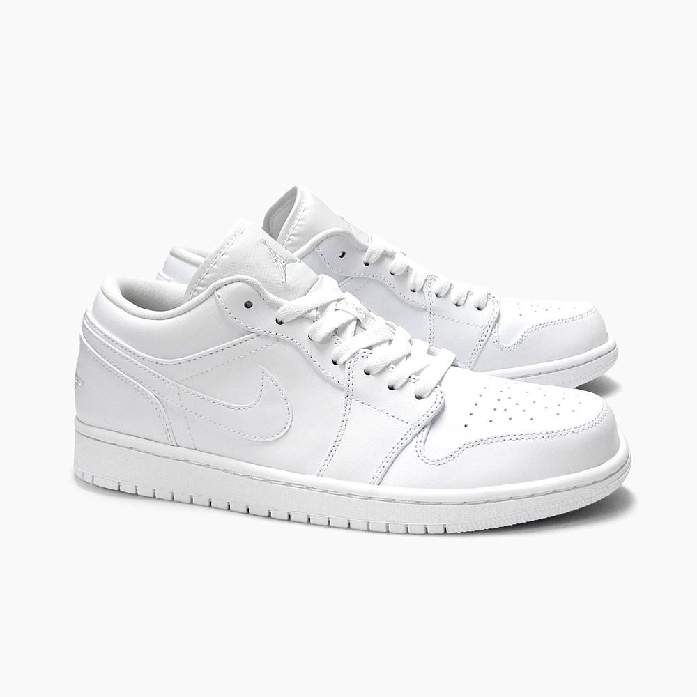 db09c245c791 NIKE AIR JORDAN 1 LOW Nike Air Jordan 1 low  553558-120 WHITE WHT METALLIC  SILVER