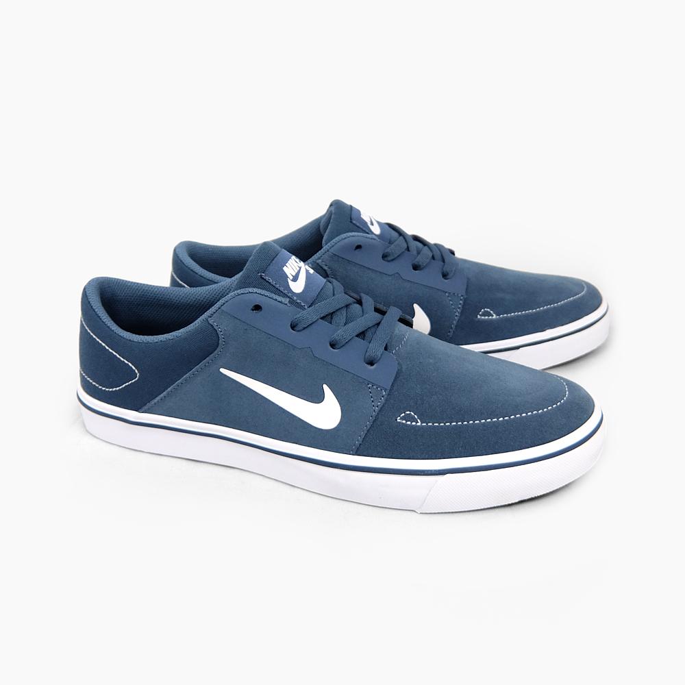 725027-412 SQUADRON-BLUE/WHITE, PORTMORE SB NIKE Nike SB Portmore
