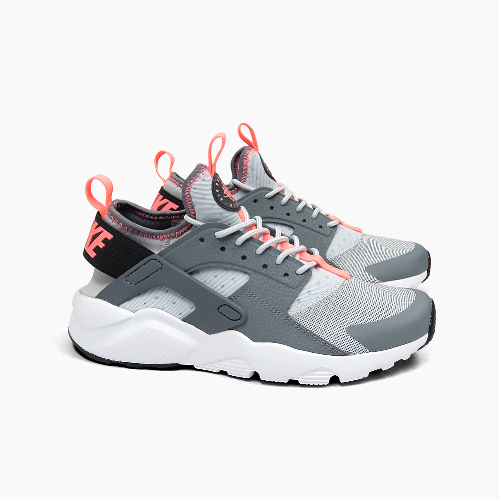 NIKE AIR HUARACHE RUN ULTRA GS[84万7568-005 ANTHRACITE/LAVA GLOW]海外限定naikieaharachiranurutoragurepinkuredisusunikanaikisunika