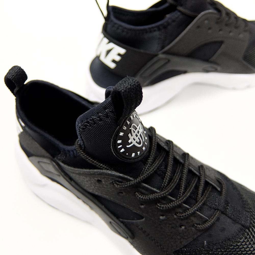 Nike Air Huarache Ultra Svart Og Hvitt Marked 9p2Lyx0E