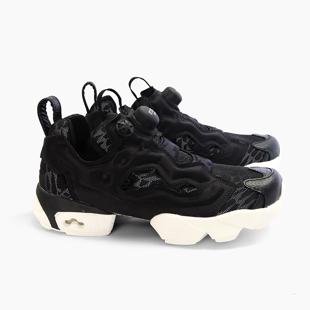 REEBOK INSTA PUMP FURY CELEBRATE Reebok pump fury black white Womens  sneakers white reflector efb4ff1247