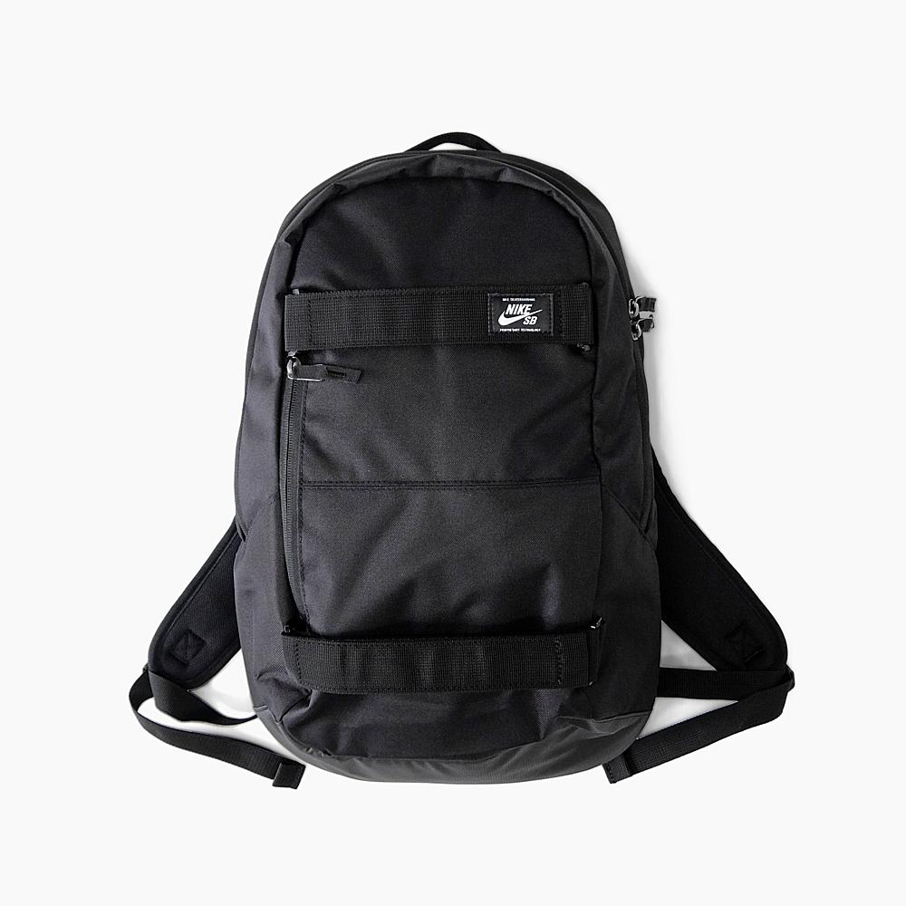 Rucksack Kie Ney's B NIKE SB COURTHOUSE [BA5305 BLACKBLACKWHITE 010] house with an inner court 24L skateboarding rucksack backpack bag day pack men