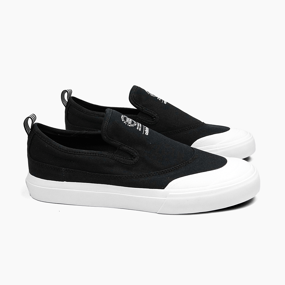 ff7f3a020adc ADIDAS Adidas sneakers slip-ons skating shoes men MATCHCOURT SLIP F37387  BLACK WHITE WHITE ADIDAS SKATEBOARDING match coat slip black black スケートボード  ...