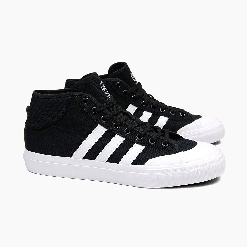 aab010f476 ADIDAS Adidas sneakers skating shoes men MATCHCOURT MID F37703 BLACK WHITE ADIDAS  SKATEBOARDING black white ...