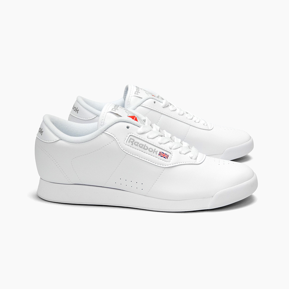 904e73122032 SNEAKER BOUZ  REEBOK Reebok Lady s sneakers PRINCESS WHITE INT J95362  Princess white REEBOK CLASSIC Reebok classical music white low-frequency  cut