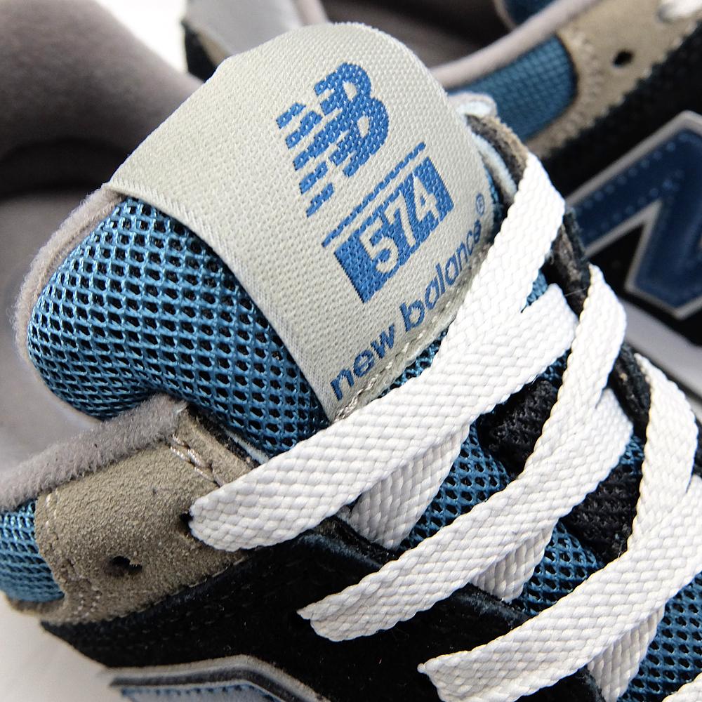 Nuovo Equilibrio 574 Mens Blu gnMq4