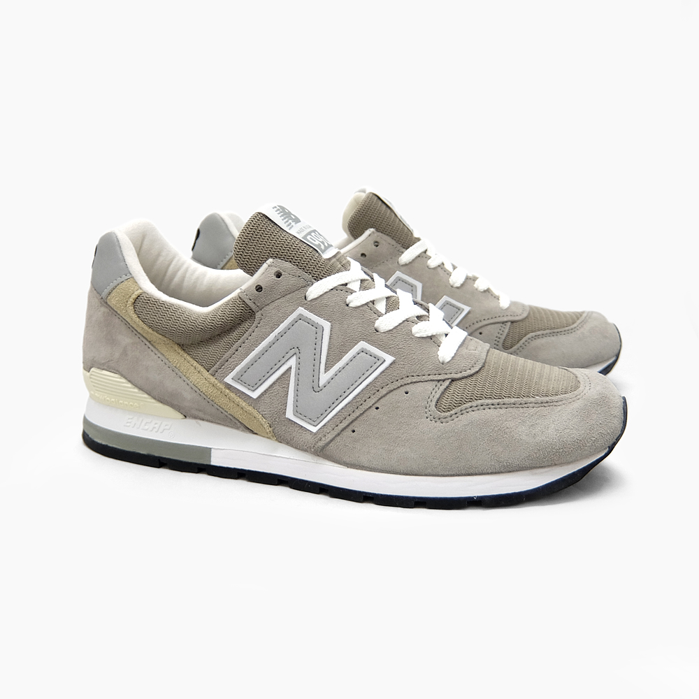 new balance 996 grey white