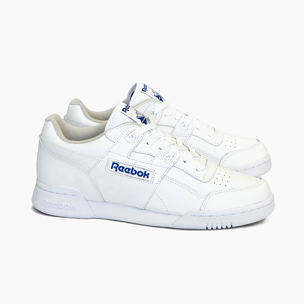 REEBOK CLASSIC Reebok classical music Lady's sneakers practice game positive WORKOUT PLUS 2759 fitness training white royal blue SNEAKER MEN'S