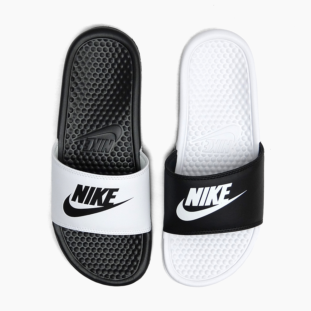 wholesale dealer 846a8 3fecd ナイキベナッシミスマッチ NIKE BENASSI JDI MISMATCH 818,736-011 men s lady s sandals  BLACK WHITE ...