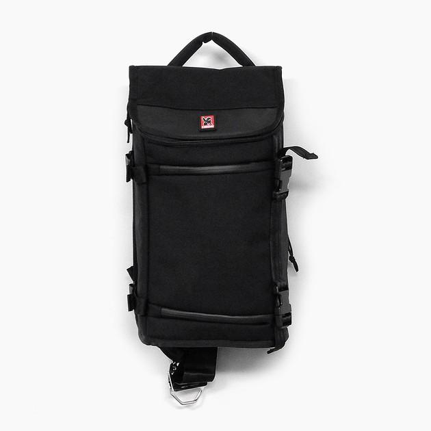 カメラバッグ クローム CHROME NIKO BG134 11.5L BLACK/BLACK ショルダーバッグ ワンショルダー ブラック 黒 一眼レフ対応 三脚ストラップ タブレット収納 撥水 DSLR CAMERA BAG