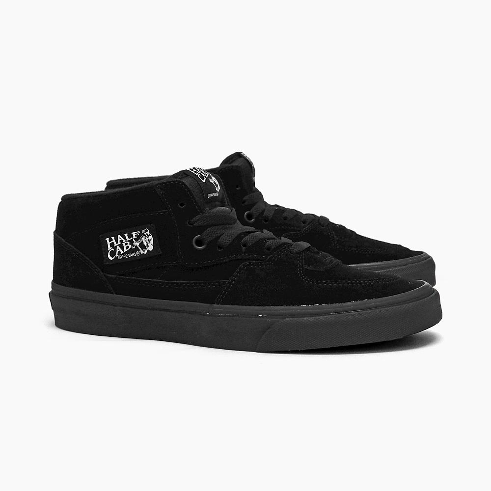 VANS vans mens Womens sneakers vans half cab CLASSICS HALF CAB  (skateboarding shoes) (emerica skase) vans sneakers USA vans HALFCAB mid  cut suede black ... a389587078