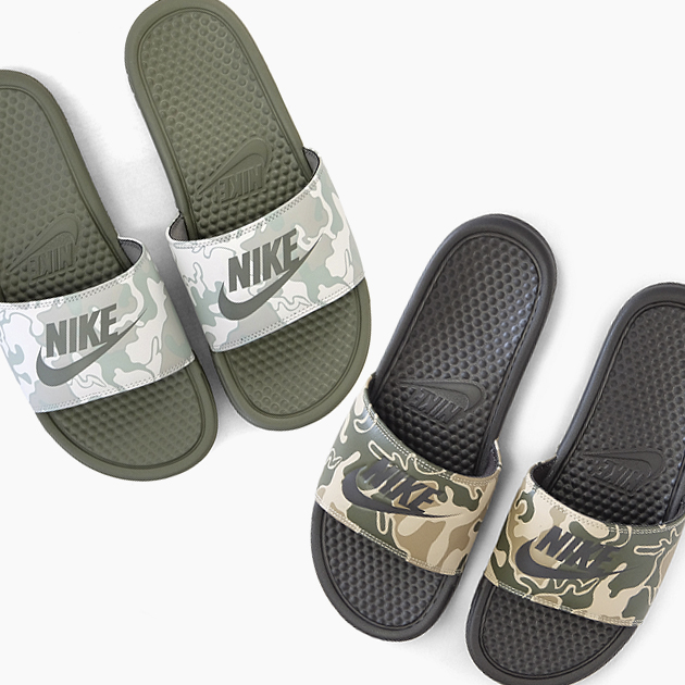 super popular a66ea 32527 ナイキベナッシ NIKE BENASSI JDI PRINT 631261 [009 202] camouflage camouflage  pattern JUST DO IT print sandals Lady's men rest room sandals slippers  beach ...