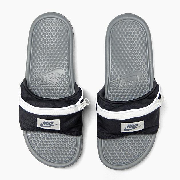 ナイキベナッシ JDI Fannie pack NIKE BENASSI JDI FUNNY PACK AO1037-001 BLK black men  gap Dis sandals sports sandals shower sandals 9c57aa520