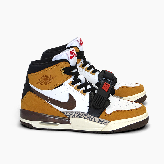 purchase cheap 009e0 65c9f NIKE Nike Air Jordan Legacy AIR JORDAN LEGACY 312 GS ROOKIE OF THE YEAR  [AT4040-102 WHEAT/VARSITY RED] girls Boys Lady's-adaptive ...