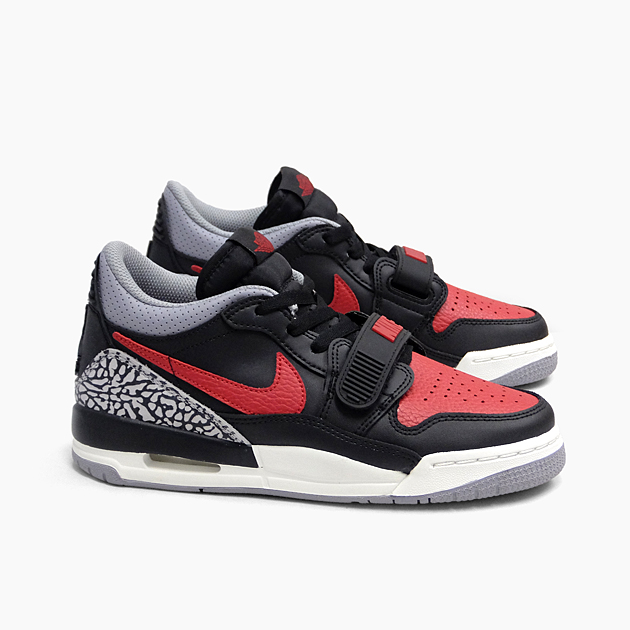 official photos 7dcda 80544 NIKE Nike Air Jordan Legacy AIR JORDAN LEGACY 312 LOW GS [CD9054-006  BLACK/VARSITY RED] Lady's-adaptive girls Boys low-frequency cut sneakers  black ...