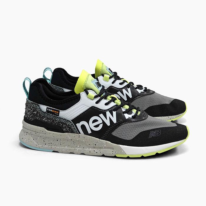 ニューバランス メンズ スニーカー NEW BALANCE CMT997HD BLACK ブラック 黒 グリーン 緑 2020 春夏 新作 NEWBALANCE MEN'S メンズ トレイル ランニングシューズ 靴 ナイロン メッシュ