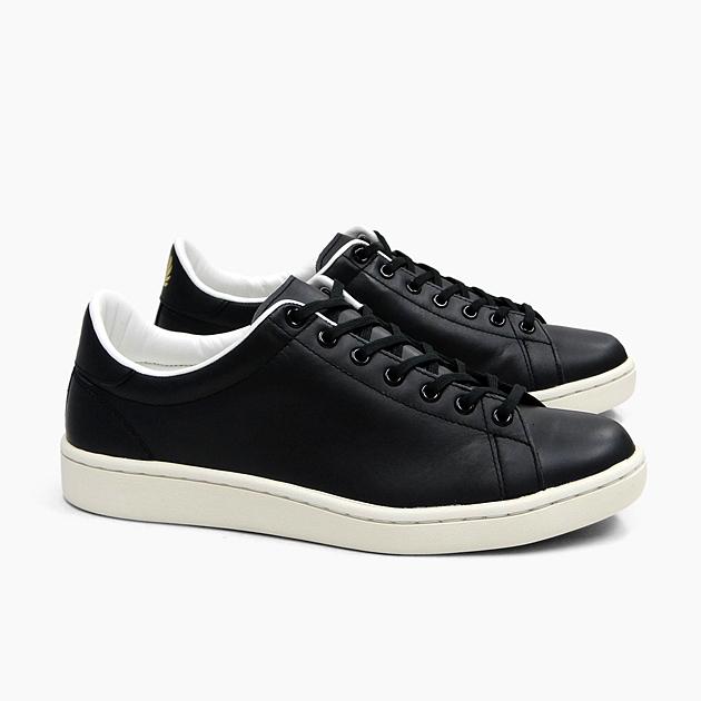 FRED PERRY フレッドペリー メンズ スニーカー BREAUX LEATHER [F29645 07 BLACK] ブロー MEN'S ブラック 黒 レザー LEATHER ローカット 革 シューズ フットウェア FREDPERRY SNEAKER SHOES フレッド・ペリー 靴 プレゼント