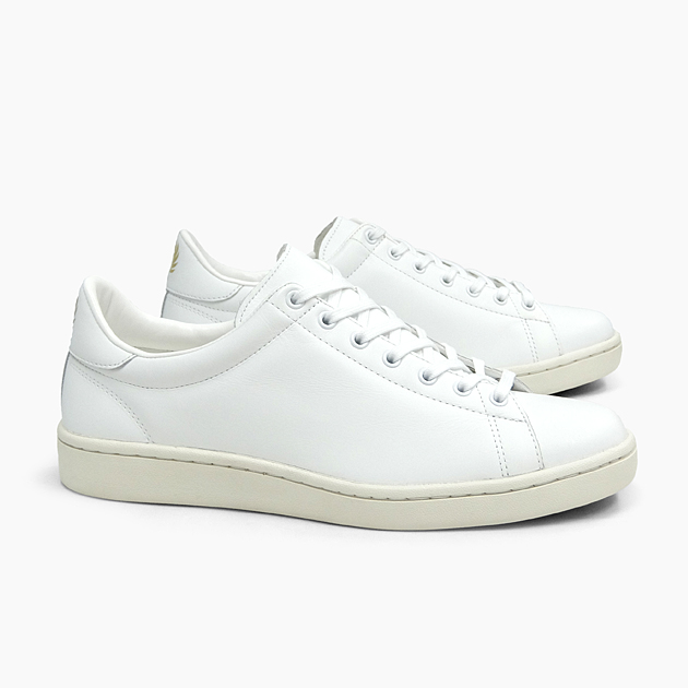 FRED PERRY フレッドペリー メンズ スニーカー BREAUX LEATHER [WHITE F29645 10] ブロー MEN'S 白 ホワイト レザー LEATHER ローカット 革 靴 プレゼント