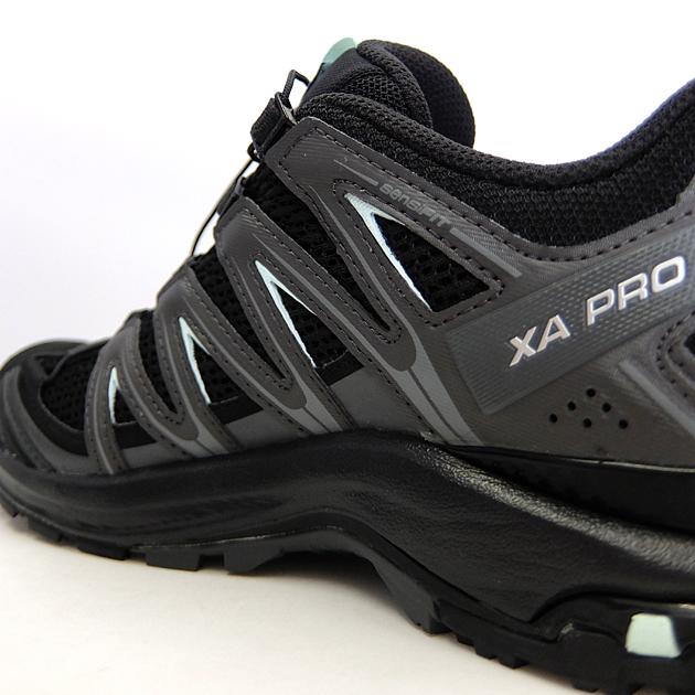 Salomon Salomon Women's XA Pro 3D Trail Running Shoes, BlackMagnetFair Aqua, 7 from Amazon | Real Simple