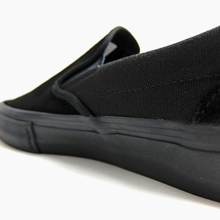 Vans slip ons pro VANS sneakers shoes SLIP ON PRO BLACKOUT [VN00097M1OJ]
