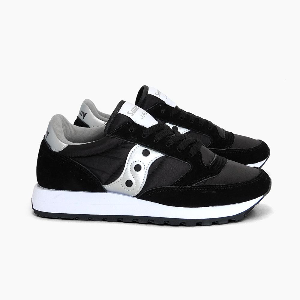 e34f202b2362 Saucony Womens mens SAUCONY JAZZ ORIGINAL sneaker Jazz BLACK SILVER women s  WOMEN s shoes shoes suckennyoriginals classic black silver white white  SHOES ...