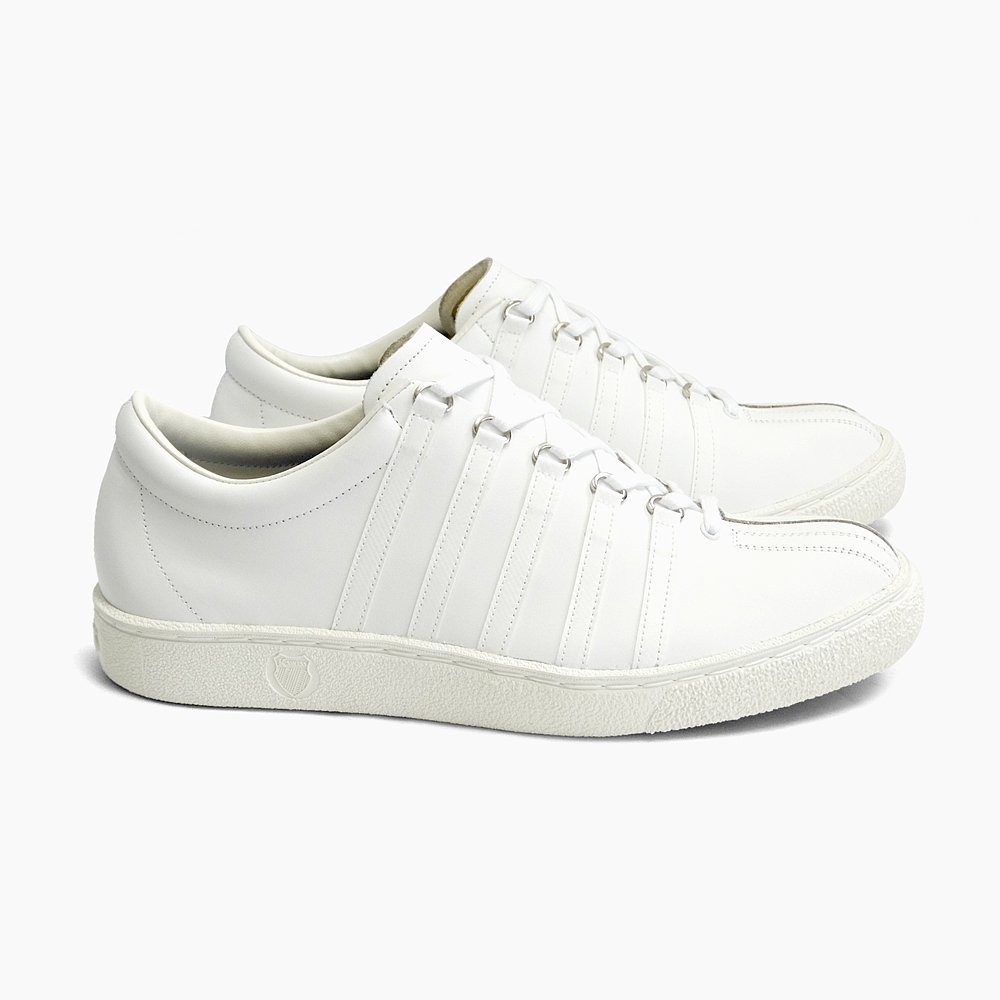 K-SWISS CLASSIC 66 MADE IN JAPAN [36801000 WHITE] ケー・スイス クラシック66 日本製 復刻 ホワイト ケースイス Kスイス スニーカー オールホワイト 白 レザー 靴 メンズ レディース 定番 メイド・イン・ジャパン