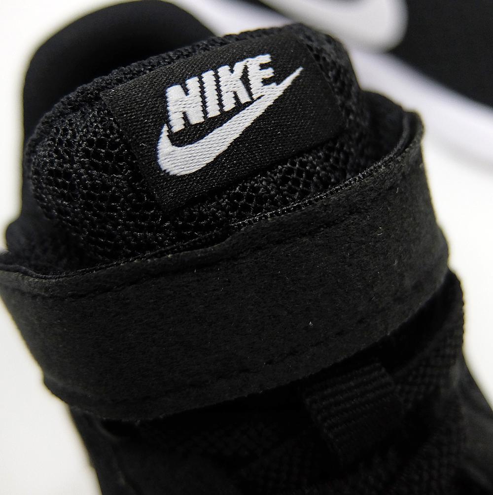 256cd75fa56f NIKE TANJUN PSV 844868-002 BLACK WHITE Nike Tanjung preschool kids Velcro  sneakers black white black white