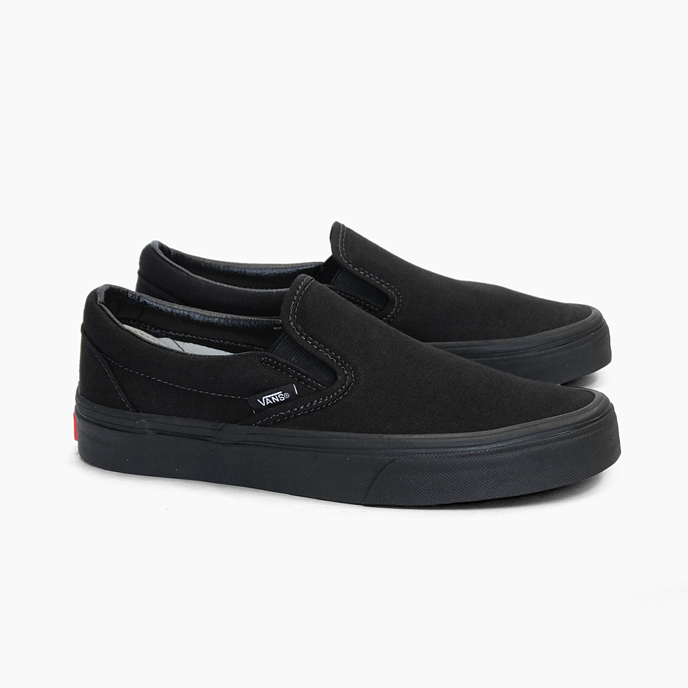 VANS van gap Dis men sneakers slip ons CLASSIC SLIP ON BLACKBLACK VN000EYEBKA VN 0EYEBKA classical music slip ons oar black constant seller vans