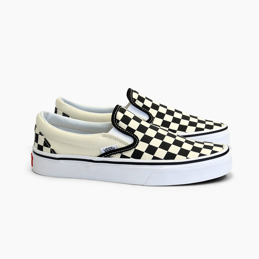 2bc8654a10d938 Slip-ons VANS vans slip-ons checker CLASSIC SLIP-ON BLACK WHITE CHECKER  VN-0EYEBWW VANS men sneakers black white vans slip-ons