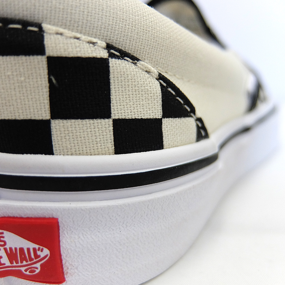 7bb85ca7c1e81c Slip-ons VANS vans slip-ons checker CLASSIC SLIP-ON BLACK WHITE CHECKER VN-0EYEBWW  VANS men sneakers black white vans slip-ons