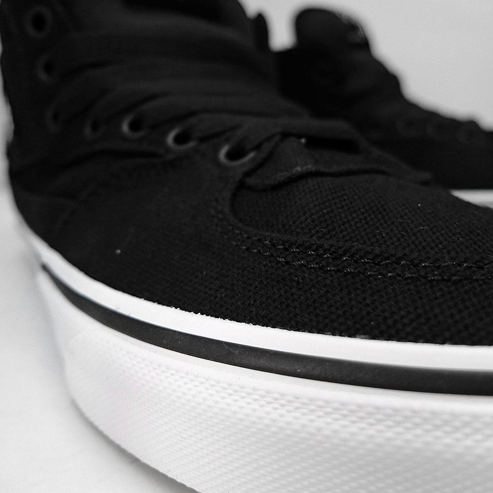 c8a5858611 VANS vans mens Womens sneaker CLASSICS HALF CAB 14 oz CANVAS BLACK  VN-0KWY1W1 half cab canvas vans sneakers USA skateboard shoes Black Black  skate shoes ...