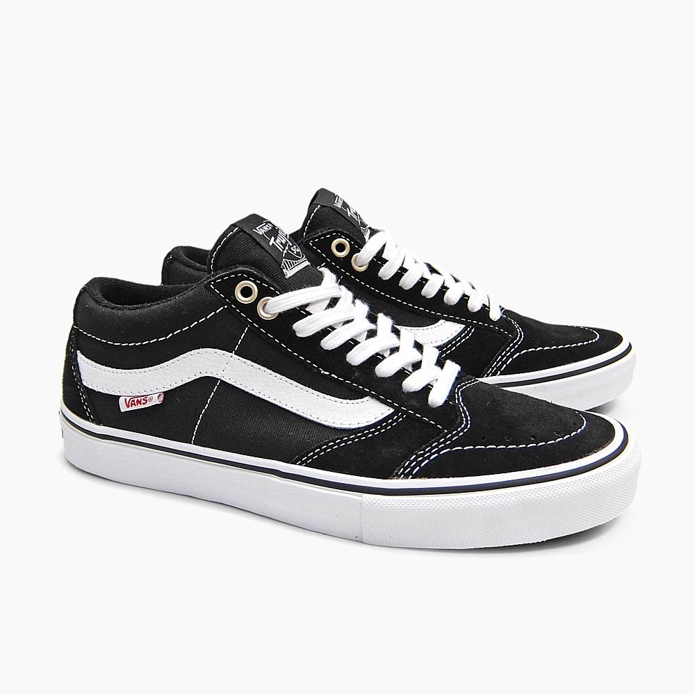 f9737ab8837f9b VANS vans sneakers skating shoes men PRO SKATE MEN S TNT SG BLACK WHITE  VN000ZSNBA2 skateboarding shoes vans sneakers black OLDSKOOL old school USA  station ...