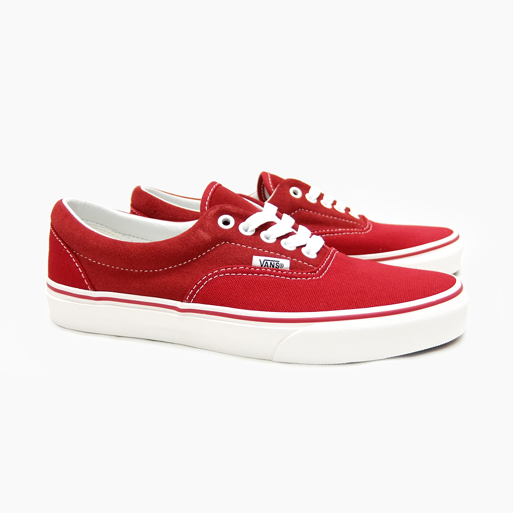 VANS vans era suede canvas ERA (CANVAS SUEDE) RACING RED VN 03Z5HYI skase