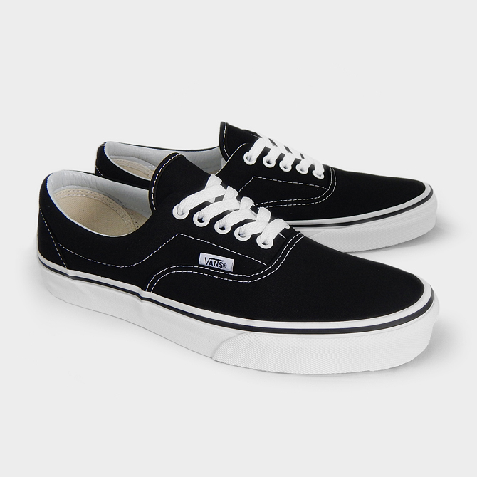 709aff8aff VANS vans gills CLASSICS MEN S ERA BLACK VN-0EWZBLK men sneakers  skateboarding shoes VANS black black white white スケートシューズスケシュー vans sneakers  ...