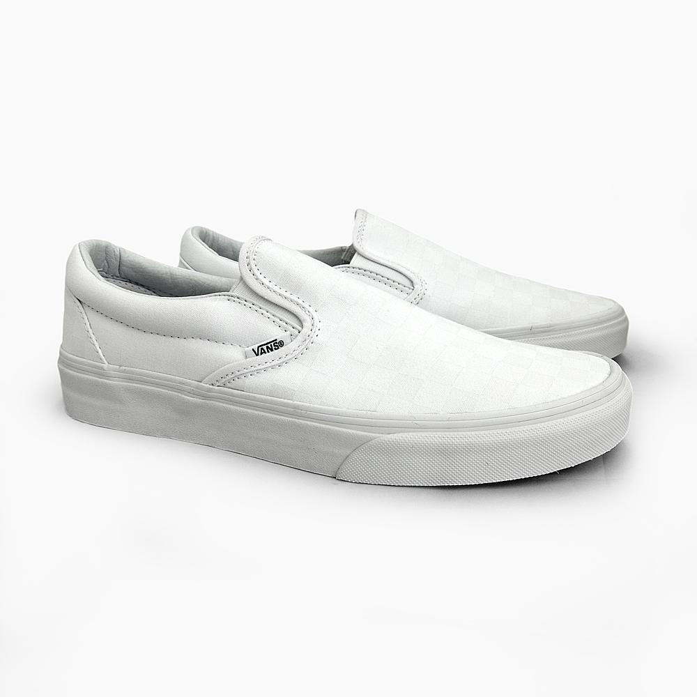 e95c38c615e9 Slip-on VANS vans slip-on Checker CLASSICS CLASSIC SLIP-ON CHECKER WHITE WHITE  VANS mens sneakers vans slip-on VN-0EYEX1L