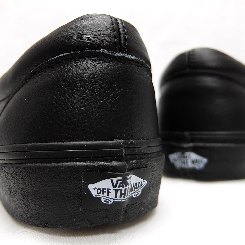 Furgonetas Resbalones Clásico Sobre (piel De Primera Calidad) Negro / Mono DBMdW3eB
