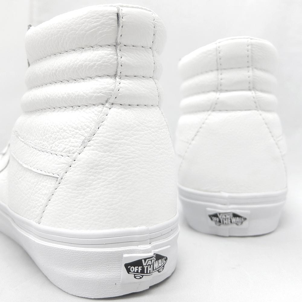 Vans Sk8 Salut Réémission Blanc En Cuir Premium 1xE3Os
