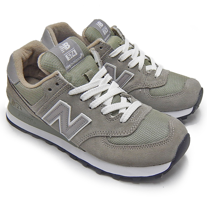 low priced eaca4 61807 NEW BALANCE New Balance 574 W574 GREY W574GS gray NEWBALANCE Lady's kids  New Balance 574 women sneakers